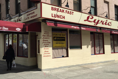 Lyric Diner sat closed on Wednesday, after its owner decided to retire, according to a broker.