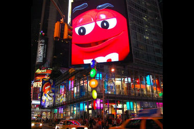 An employee stole more than $1,000 from the Times Square M&M's World store over the course of several months, the DA's office said.
