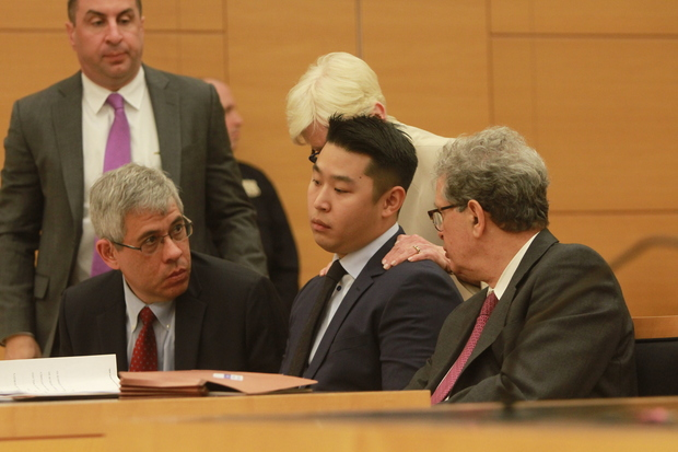 A judge reduced Officer Peter Liang's charges in the 2014 death of Akai Gurley.