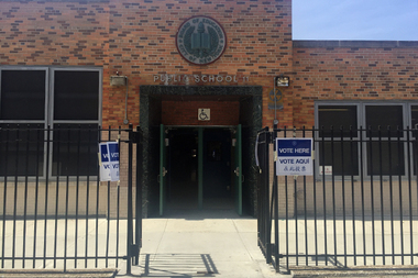 An entire block of Clinton Hill residents was left off the voter's registration list during Tuesday's primary election, according to poll workers at P.S. 11.