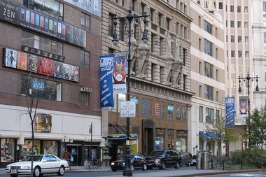 A 53-story residential tower is planned for Park Row, the former home of J&R music and electronics store.