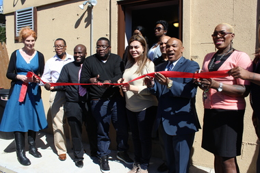 The city's first major transgender center officially opened its doors in the South Bronx on Friday afternoon.