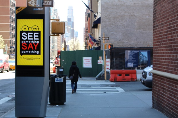 Free Wi Fi And Phone Charging Stations Up Running Along Third Avenue Upper East Side New York Dnainfo
