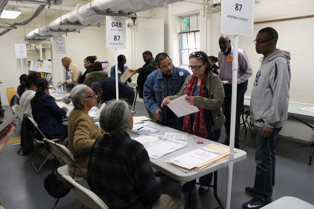 Voters in Parkchester had several complaints about trying to vote in New York's presidential primary.