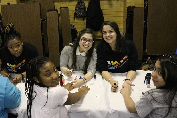A recent Girl's Night at the Bronx's School of Diplomacy was open to students with good attendance.