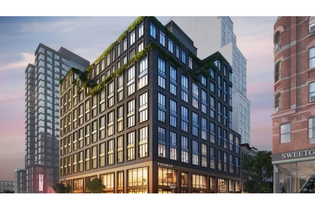 Interior renderings of the condo development at 196 Orchard Street.