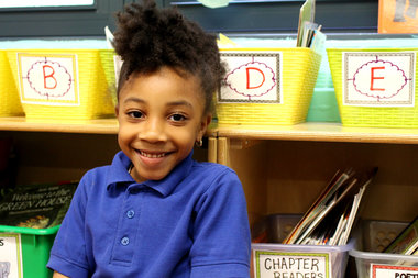 Anaya Gravesande, a kindergartener at Brighter Choice Community School, hopes to join the new dual language program this coming academic year.