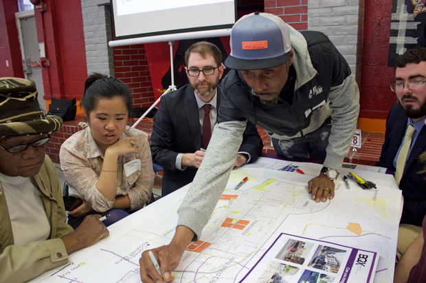 "Dozens attended the first in a series of public ""visioning sessions"" about the city's proposal."