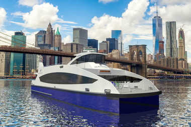 Discussions surrounding Citywide Ferry Service between Brooklyn and Governors Island is underway, though the city has yet to announce whether the route will be launched next year.