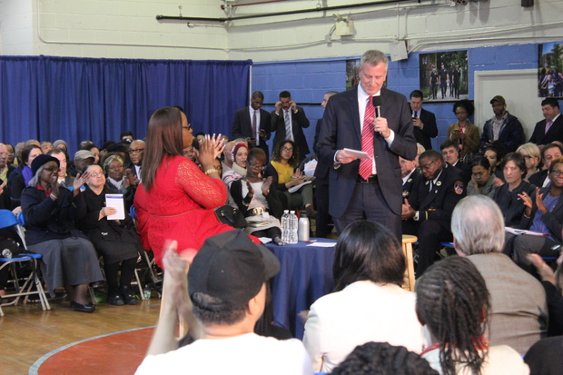 Residents will get a chance to ask Mayor Bill de Blasio questions about local issues and concerns during a town hall in Rego Park scheduled for June 8.