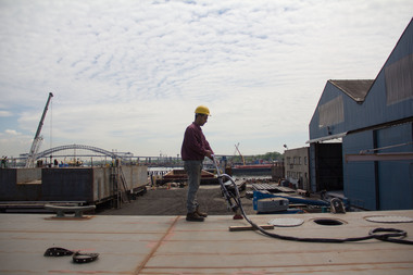 A job center at Kingsborough Community College is offering a deckhand training program.