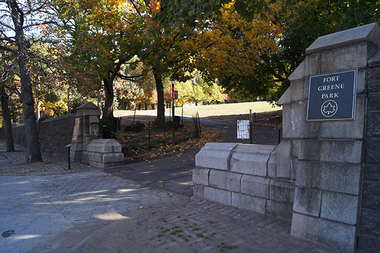 Fort Greene Park has won $5 million to revamp its Myrtle Avenue side from the Parks Without Borders program.