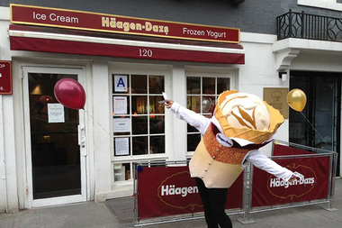Pick up a free scoop of ice cream at the Häagen-Dazs on Montague Street Tuesday between 4 and 8 p.m.