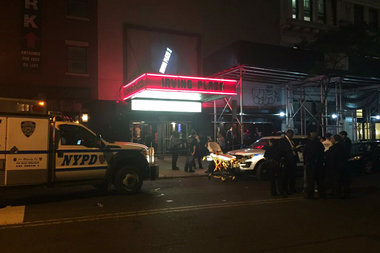 Four people were shot, one dead, at a T.I. concert at Irving Plaza late Wednesday night.