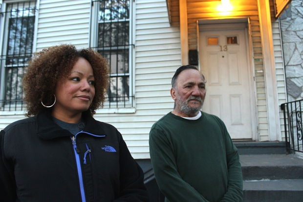 Ada Hernandez, 48, and her father Gregory Hernandez, 66, have lived on Ditmars Street for decades.