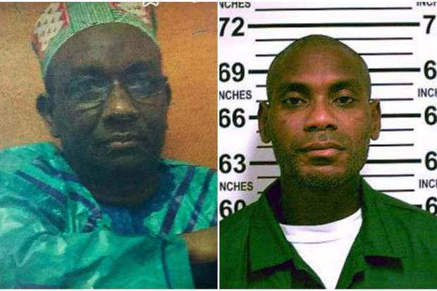 Mamadou Diallo, left, beat Earl Nash, right, who attacked Diallo's wife in Morrisania, police said.