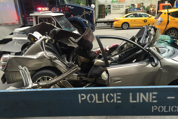 Driver Charged After Passenger Dies in Midtown Hydrant Crash