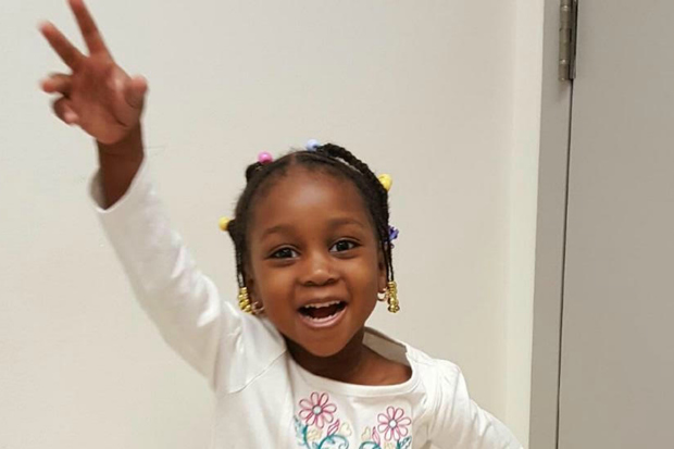 Mariam Dansoko, 3, was killed by a driver crossing East 164th Street at Gerard Avenue in the Bronx just after 8 a.m. on May 16, 2016.