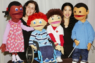 The NYC Kids Project Puppet Show is interactive and free, and addresses disabilities and bullying.