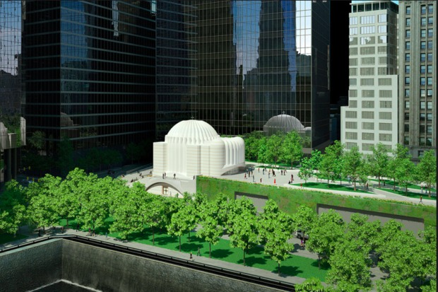 St. Nicholas National Shrine, shown here as a rendering, is  pushing ahead towards its completion.