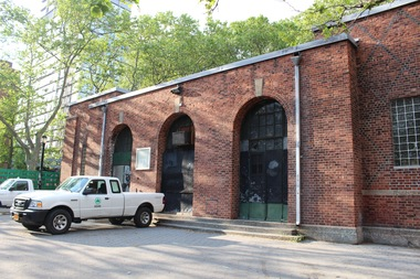 The Parks Department building on Stanton Street is currently being used for storage.