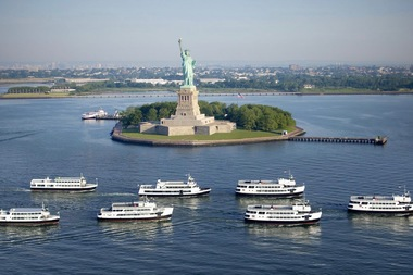 More than 4.5 million people sailed to Lady Liberty and Ellis Island last year — the highest number of visitors the landmarks have ever seen.