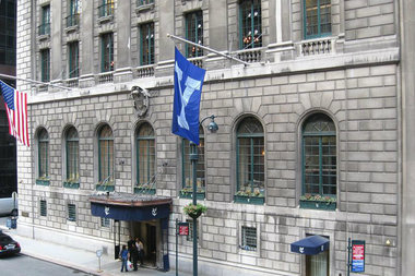 The Yale Club is among 11 buildings in east Midtown that received landmark status on Tuesday.