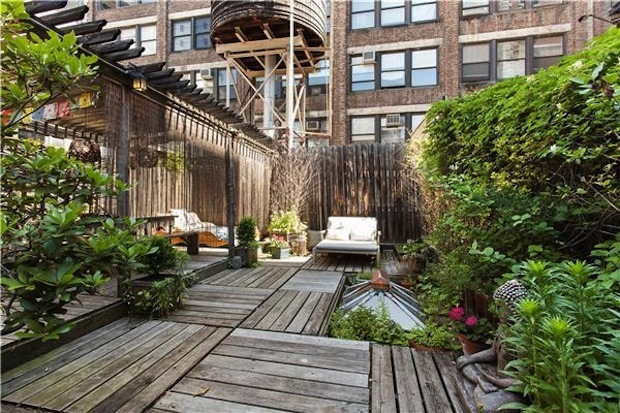 Three apartments with roof decks holding open houses this weekend.