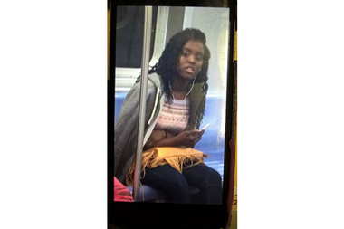 Police are looking for a teenage girl who they say attacked another teen at the Jay Street-MetroTech station Sunday.