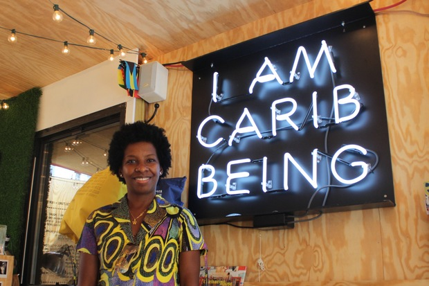 The founder of the Caribbean cultural group Caribbeing Shelley Worrell pictured in the