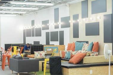 The Dream Big Innovation Center, a business incubator on Belmont Avenue in Brownsville, is set to open on June 18 along with a cafe started by local residents.
