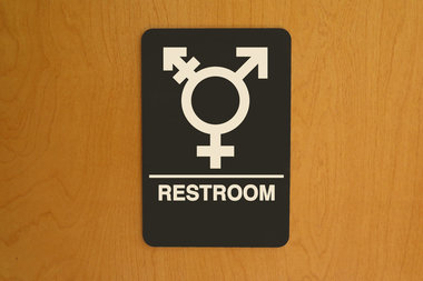 Making single-stall bathrooms available to students aims to help transgender students and others.