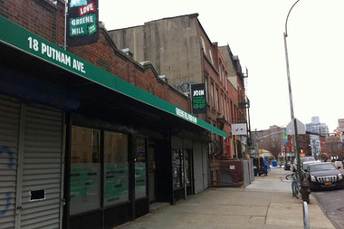The Greene Hill Food Co-Op, at 18 Putnam Ave., was served a notice of lease termination after the building's owners told them they would be selling the building, according to the co-op.