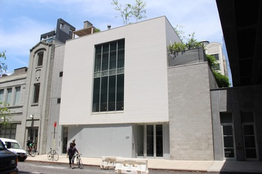 The Marianne Boesky Gallery at 509 W. 24th St.