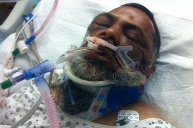 Mohamed Rasheed Khan, 59, was attacked by three young men shortly after leaving a mosque in Hollis last Wednesday.