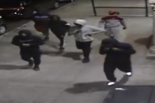 Video 6 Suspects Sought In Parkside Avenue Shooting Police Say Prospect Lefferts Gardens