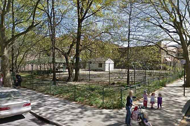The former Phipps playground at 30th Avenue and 50th Street.