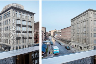 The Landmarks Preservation Commission approved the new design (right) on Tuesday, June 7.