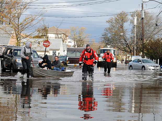 Streets flooded, trees were uprooted, and houses were destoryed in Midland Beach, Oakwood and South Beach in Staten Island after Hurricane Sandy.