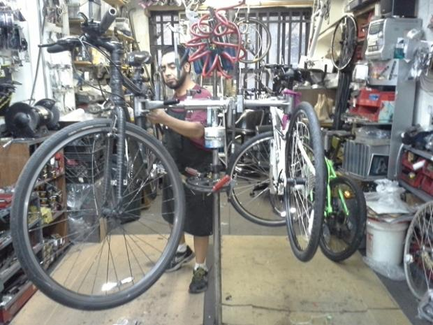 Bike shops have seen a boom in business since Hurricane Sandy.