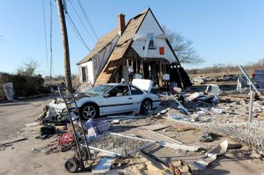 At least $200 million in insurance funds issued to Hurricane Sandy victims for repairs have been held by banks and mortgage servicers, Governor Andrew Cuomo announced on Feb. 12, 2013.