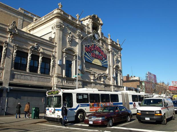 A second alarm fire broke out at the landmarked Paradise Theater in the Bronx Monday.
