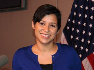 Meet Mayor Bloomberg's New Interpretor, Star of Hurricane Sandy