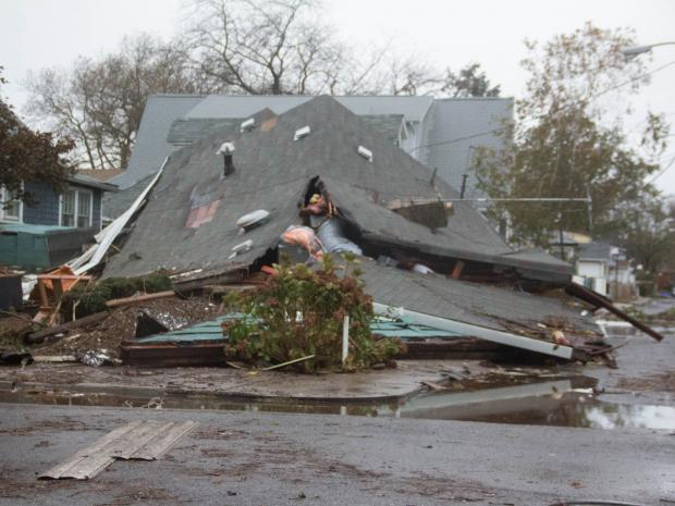 Hurricane Sandy left 18 people dead and wreaked havoc across the five boroughs.