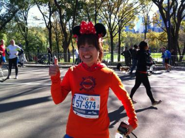 Thousands came out to Central Park to complete the controversial race unofficially, in the wake of Hurricane Sandy.