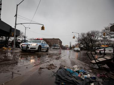 Thousands of residents of the Rockaways lost power after Hurricane Sandy.