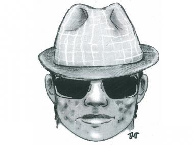 The man depicted in this sketch allegedly groped a 10-year-old girl in the Jackson Heights area Tuesday, Nov. 6, 2012.