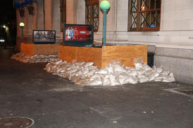 Mayor Bloomberg said subway service will be shut down for the rest of the week after Hurricane Sandy.