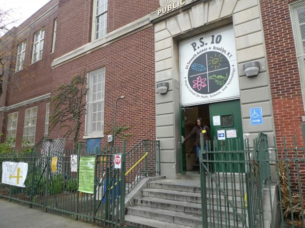 The District 15 Community Education Council voted unanimously in favor of the Department of Education's rezoning plan to shrink the zones for P.S. 107 and P.S. 321 and expand the zone for P.S. 10. The plan calls for a new K-5 school to open at the Thomas Aquinas building.