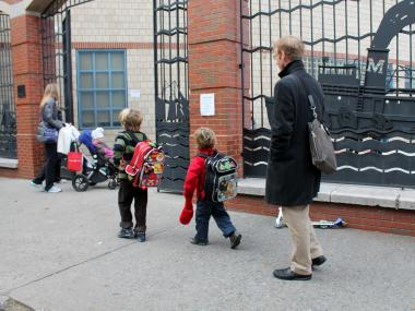 Most of Lower Manhattan's elementary schools have placed children on long waitlists.